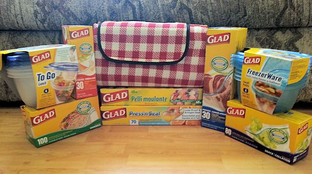 glad food storage products