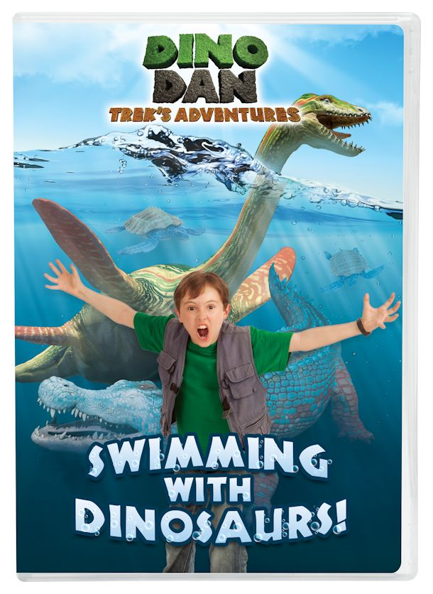 dino dan swimming with dinosaurs