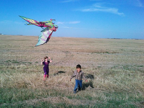 kids in saskatchewan fieldd