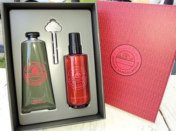 crabtree & evelyn duo indian sandalwood