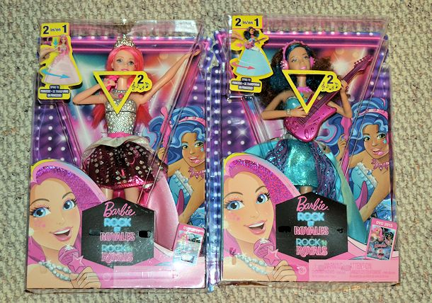 barbie rock n royals dolls