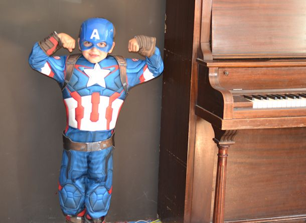 captain america costume birthday express