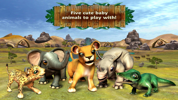 safari tales title screen