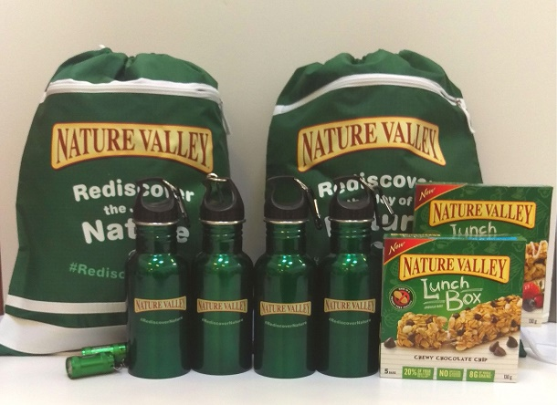 nature valley rediscover nature prize pack