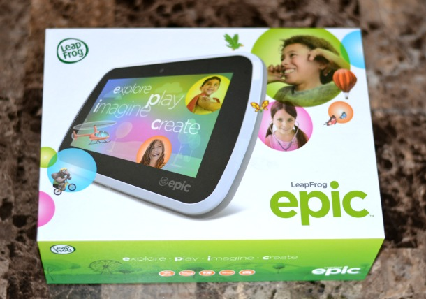leapfrog epic in box