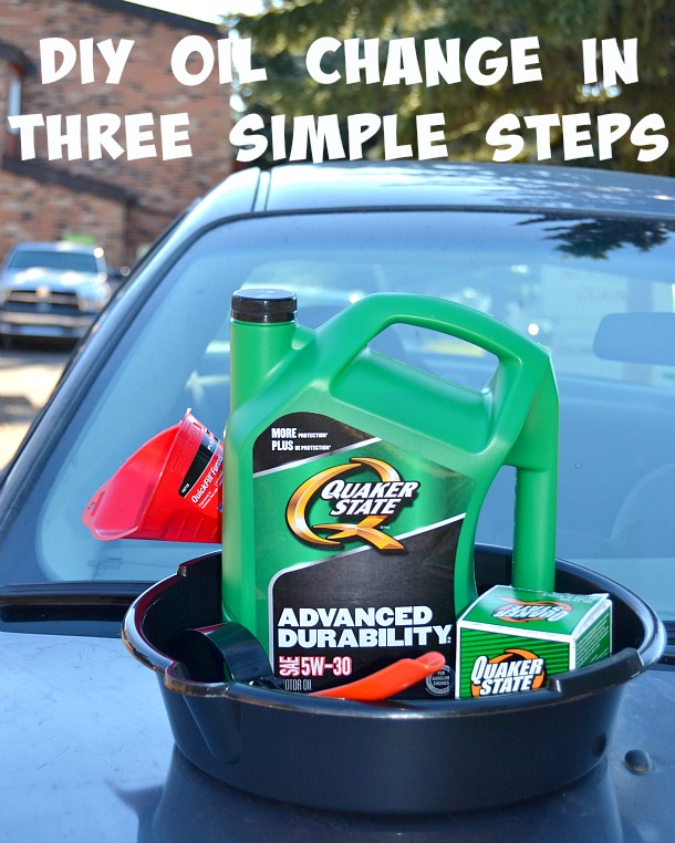 It just takes three simple steps to perform your own oil change! Learn how on Mommy Kat and Kids!