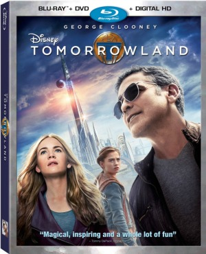 disney tomorrowland blu-ray