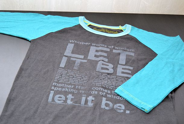 heart and soul let it be tshirt