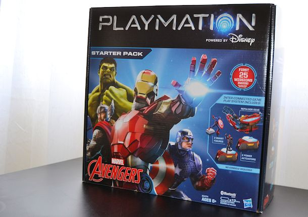 playmation marvel avengers starter set