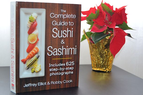 sushi and sashimi cookbook