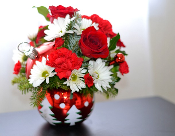teleflora sparkling winter wonderland bouquet