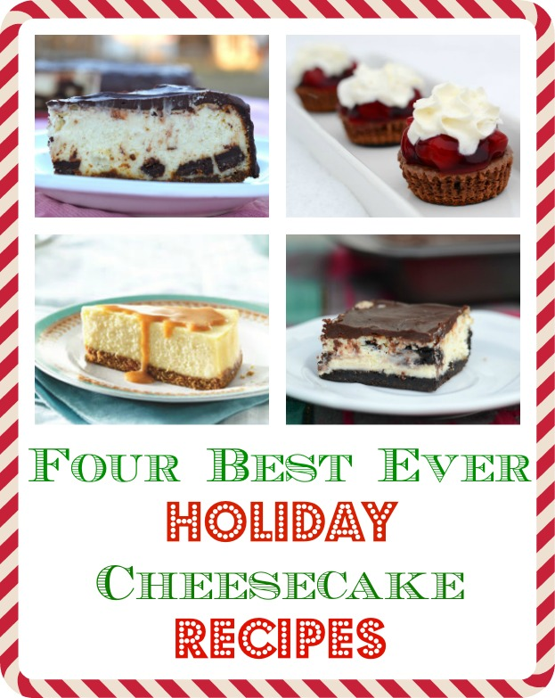 best ever holiday cheesecake recipes