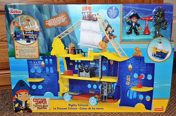jake and the never land pirates mighty colossus ship
