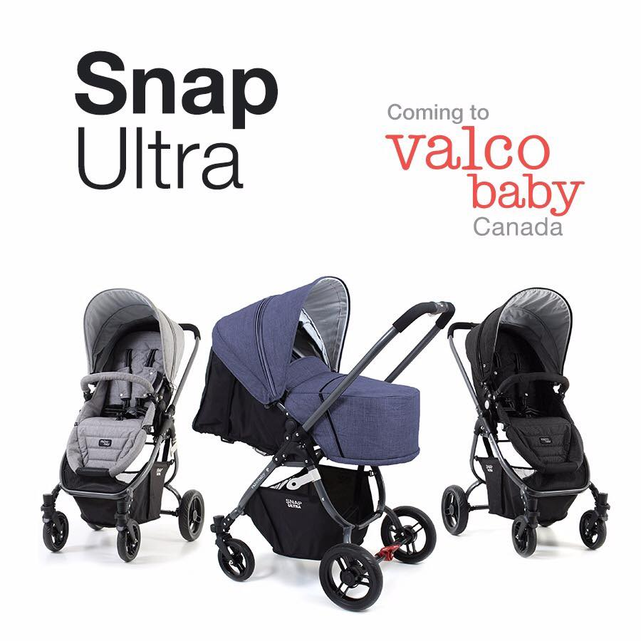 Valco Baby Strollers Offer Canadian Parents The Ultimate Versatility