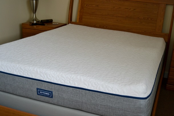novosbed medium memory foam mattress
