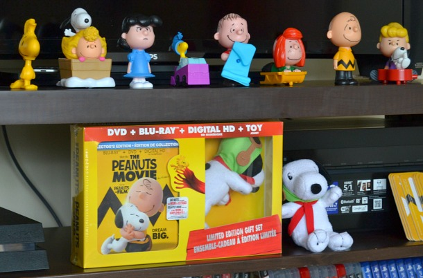 peanuts movie and characters