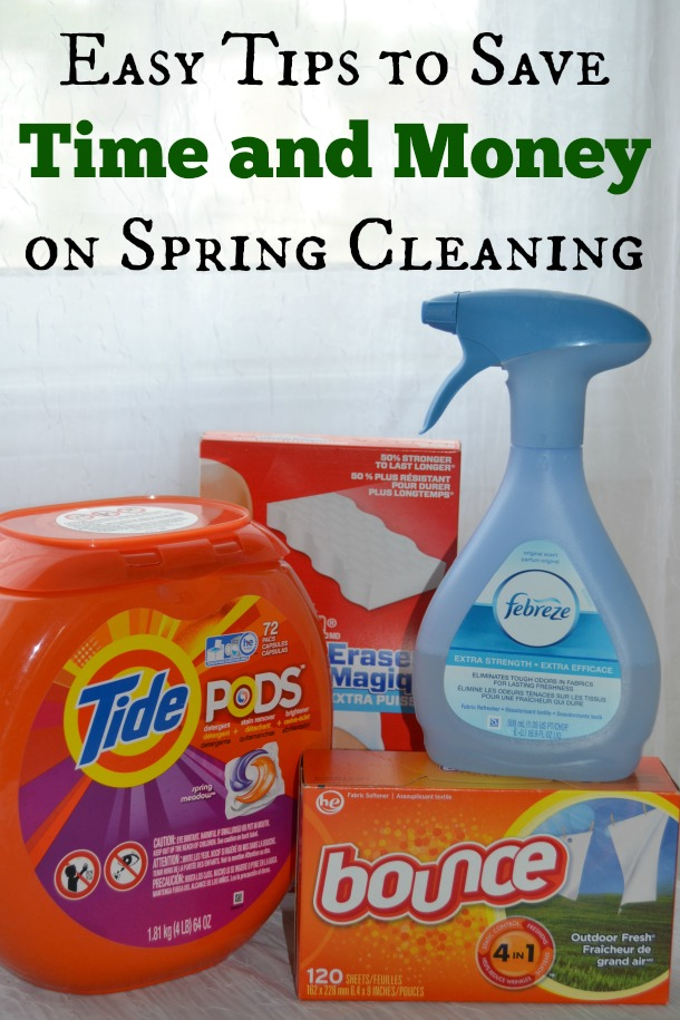 Spring Cleaning Tips to Save Time and Money