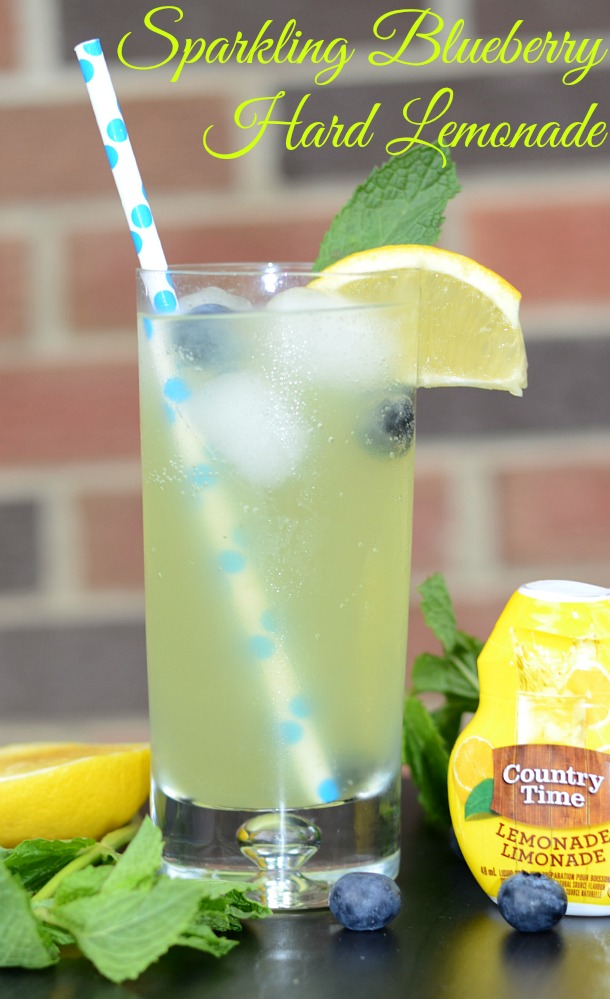sparkling blueberry hard lemonade recipe