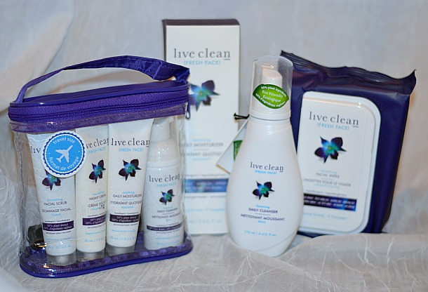 live clean freh face prize pack