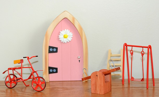 Invite a magical friend to your house with the irish fairy for My irish fairy door