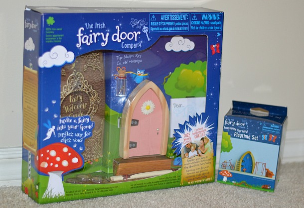 irish fairy door in box