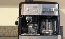 The De'Longhi Coffee, Espresso and Cappuccino Combination Machine is One Machine that Does it All-Giveaway