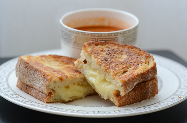 best ever gourmet grilled cheese sandwich
