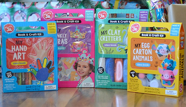 klutz jr. craft book kits