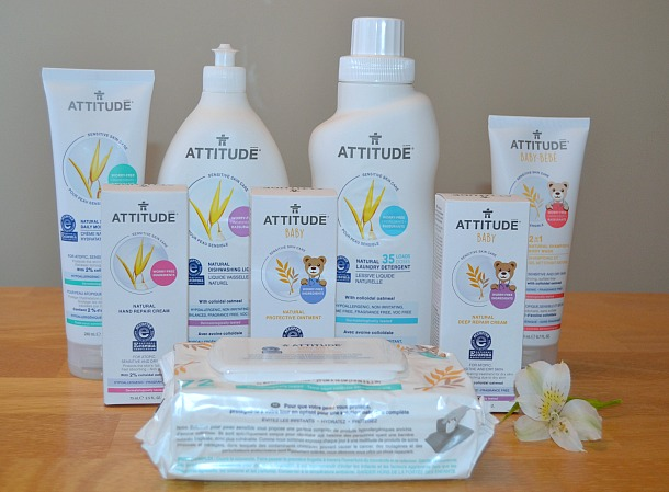 attitude sensitive skin care collection