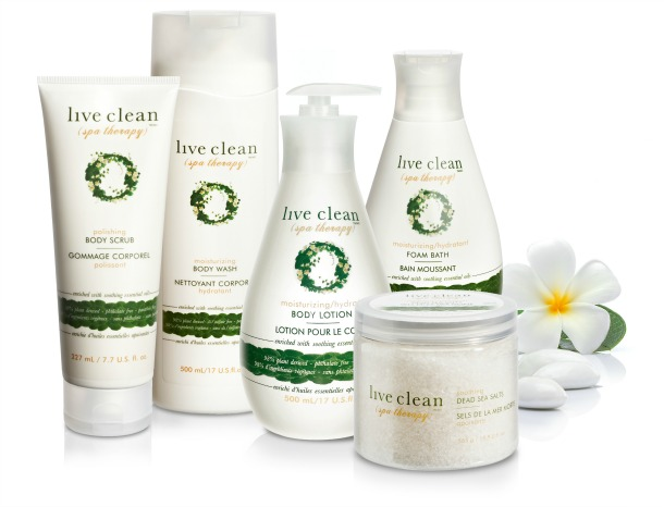 live clean spa therapy collection