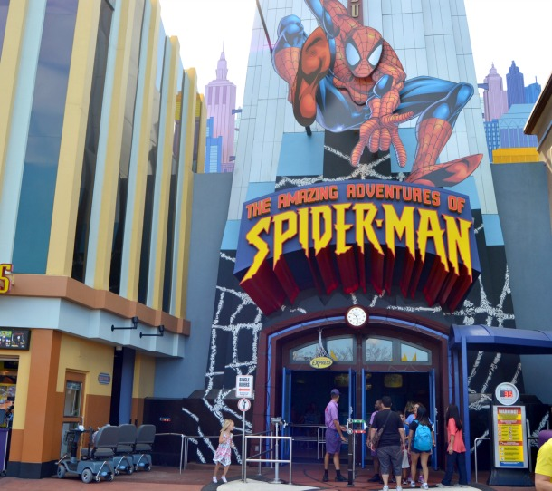 islands of adventure spider-man