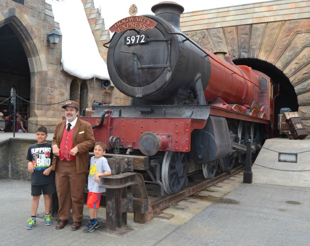 universal islands of adventure hogwarts express