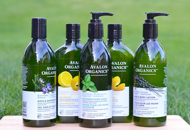 avalon organics body care