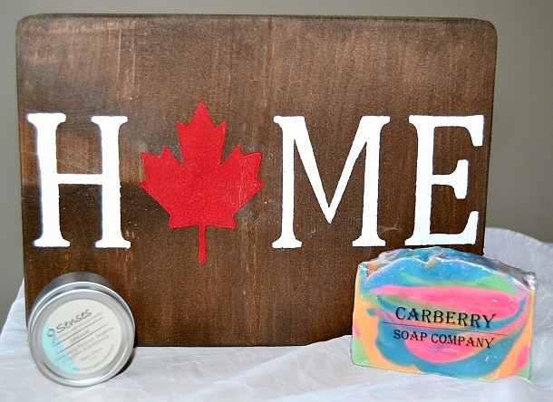 canadian originals wall plaque candle soap