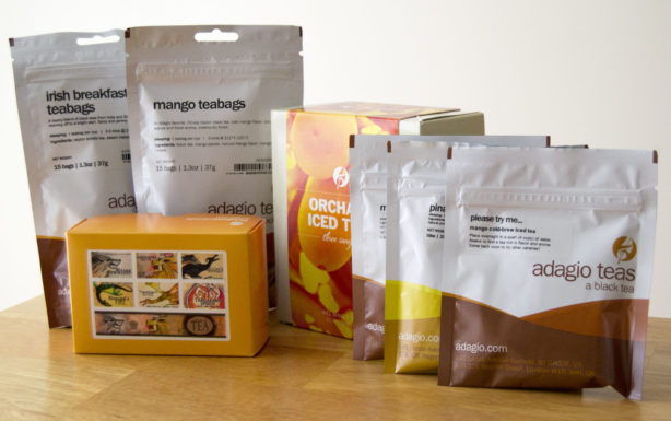 adagio tea assortment