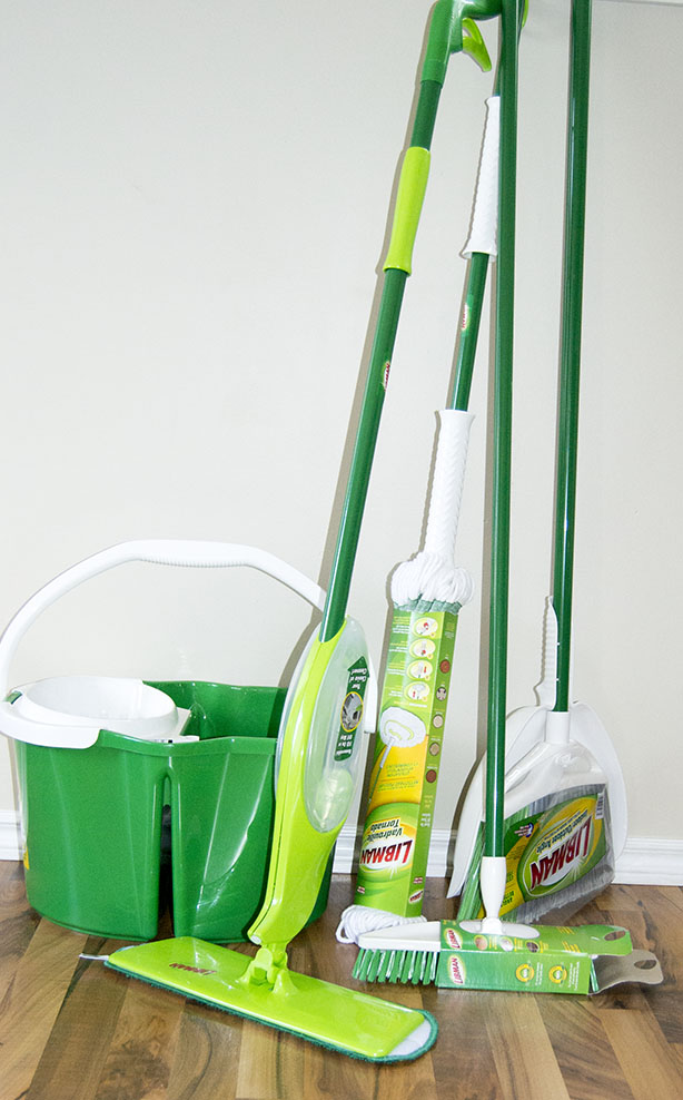 libman cleaning mops and brooms