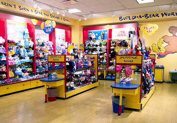 build-a-bear-display