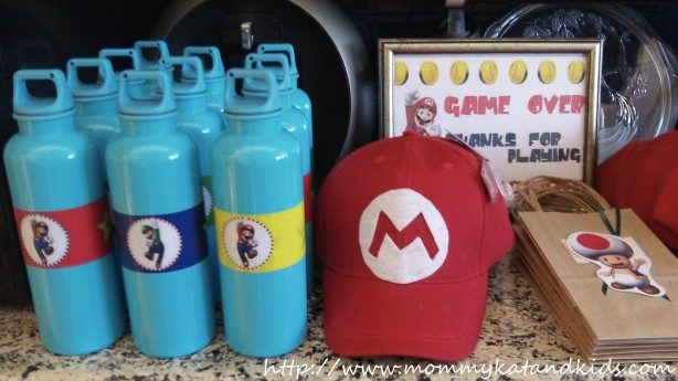 super mario diy party favours