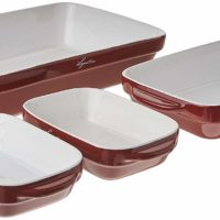Lagostina Ceramic 4-Piece Bakeware Set