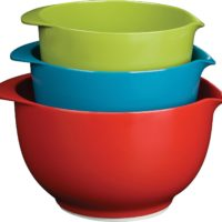 Trudeau Melamine Mixing Bowls - Set of 3