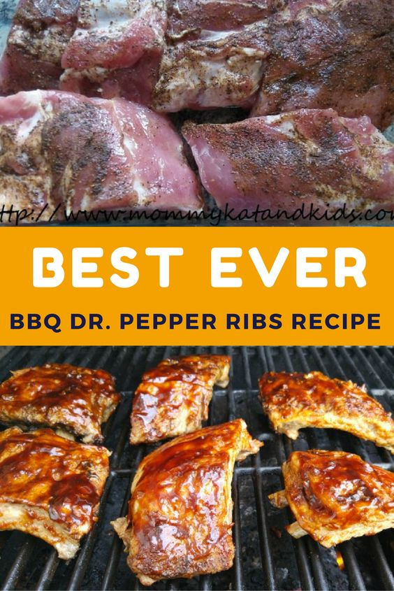 Tender and tempting, these Dr. Pepper Ribs feature a homemade BBQ sauce and are slow-cooked for the most tender ribs ever! Perfect for a summer BBQ or special occasion!